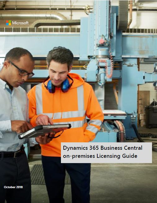 Microsoft Dynamics 365 Business Central on premise (ehemals Microsoft Dynamics NAV)